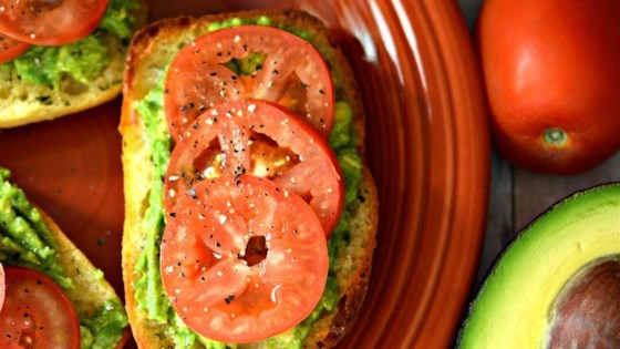 Photo of Tomato Avocado Sandwich by ronnietong