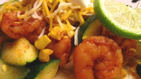 Photo of Cyndi's Shrimp Fajitas by CYNDIABA