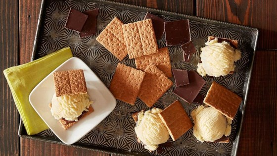 Photo of Grilled S'mores Ice Cream Sandwiches by Reynolds Kitchens®