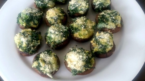 Photo of Spinach Stuffed Mushrooms by farmgirl
