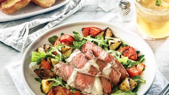 Photo of Grilled Steak and Vegetable Salad from Publix® by Publix Aprons