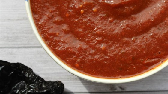 "Photo of Enchilada Sauce ""Salsa Negra"" by Isabel"