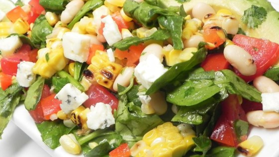 Photo of Summer Salad with Grilled Corn by peasy
