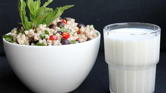 Buckwheat & Chickpea Pesto Salad