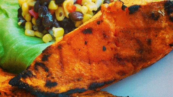 Photo of Grilled Chipotle Sweet Potatoes by Leonda