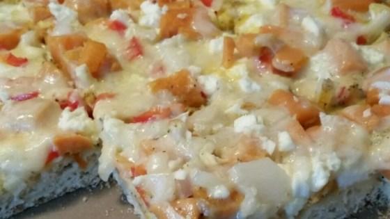 Photo of Breakfast Sausage Pizza by ARGO®,  KARO®  and FLEISCHMANN'S®