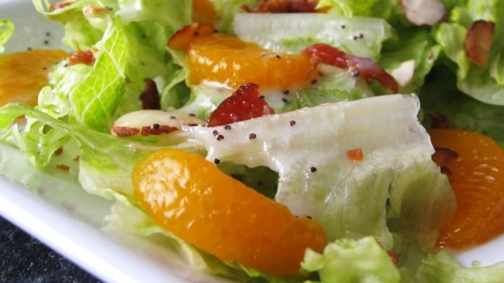 Photo of Romaine and Mandarin Orange Salad with Poppy Seed Dressing by Joni B.