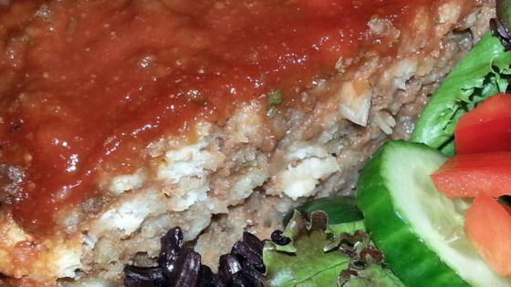 Stuffing Meatloaf with a Sweet Glaze