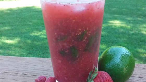 Photo of Strawberry-Raspberry Mojito by smarie07