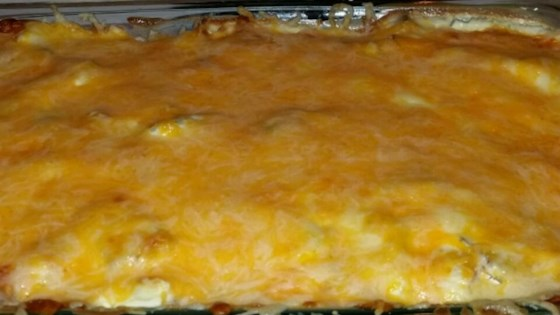 Photo of Potato, Cheese, and Kielbasa Casserole by charthan