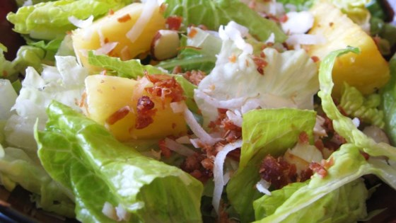 Photo of Tropical Salad with Pineapple Vinaigrette by Marianne G