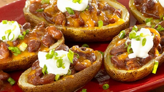 Photo of Super Loaded Chili Potato Skins by HORMEL CHILI®