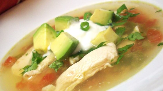 Photo of Avocado Soup with Chicken and Lime by Michelle