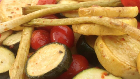 Photo of Smoked Zucchini and Squash by Man Ho