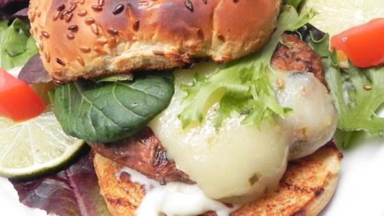 Turkey Chorizo Burger