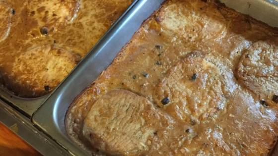 Photo of Mushroom Sauce Baked Pork Chops by JHILGENB