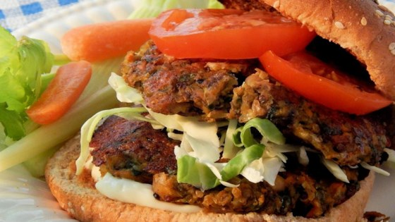 Photo of Veggie Quinoa Burgers by Becky