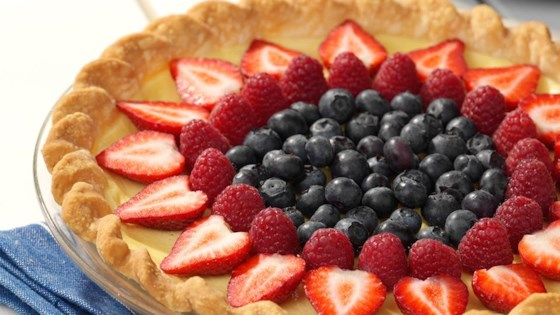 Photo of Fresh Fruit Custard Tart by Reddi-wip