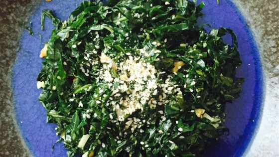 Photo of Easy Japanese-Style Vegan Collard Greens by STRYDER256