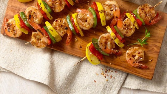 Photo of Spanish Garlic Shrimp on Skewers by Goya