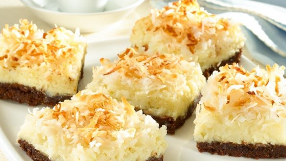 Photo of Coconut Cheesecake Bars by Goya