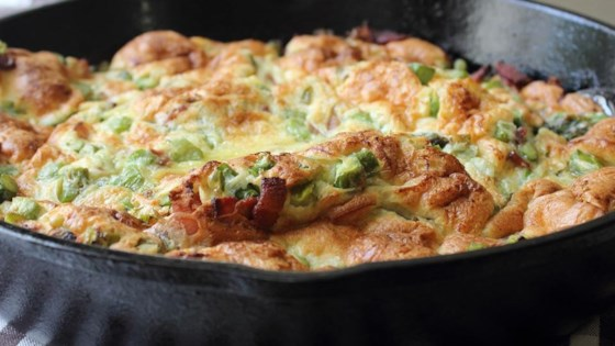 Photo of Chef John's Bacon and Asparagus Dutch Baby by Chef John