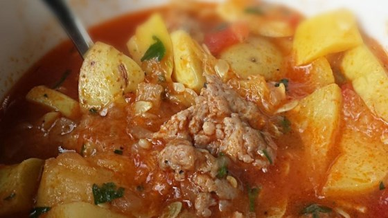 Photo of Summer Squash and Sausage Stew  by Chef John