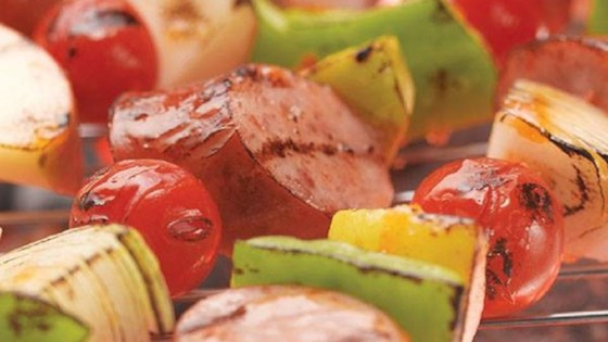 Photo of Smoked Sausage Kabobs by Hillshire Farm® Brand