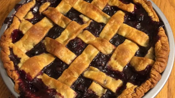 Photo of Blackberry and Blueberry Pie by Debbie Sanchez