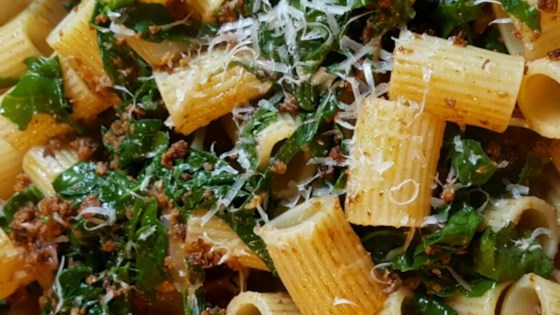 Photo of Chorizo and Broccoli Rabe Pasta by kikikalooki