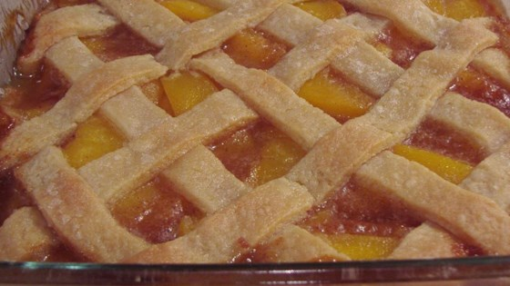 Photo of Old Fashioned Peach Cobbler by ELETA