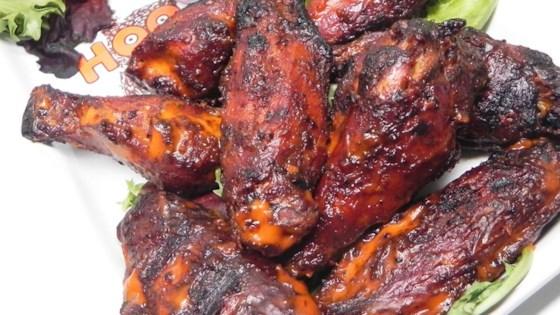 Smoked Chicken Hot Wings Recipe