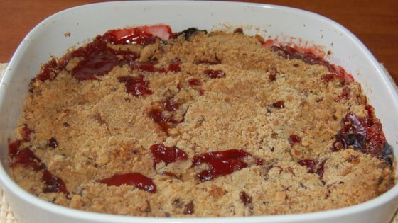 Photo of Rhubarb Crisp by GILLETTE