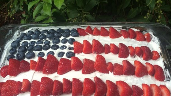 Photo of Flag Cake by Mrs. Michael Ramey