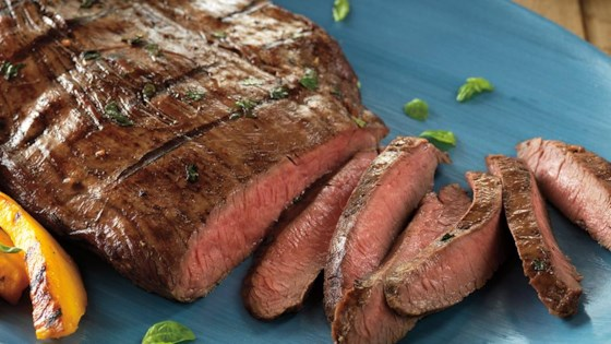 Photo of Balsamic Marinated Flank Steak by Beef. It's What's for Dinner.