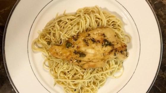 Chicken Piccata With Angel Hair Pasta Recipe Allrecipes Com