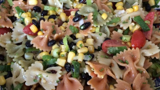 Photo of Cold Southwestern Bow Tie Pasta by veithk