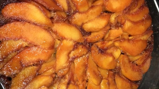 Photo of Peach Upside-Down Cake III by DISNEY5