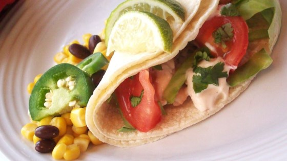 Photo of Grilled Fish Tacos with Chipotle-Lime Dressing by Mary Dohrmann