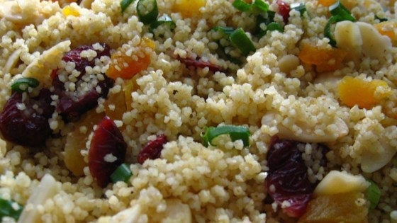 Photo of Fruity Couscous Salad by USA WEEKEND columnist Jean Carper