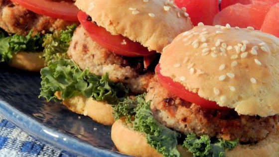Photo of Natasha's Chicken Burgers by ChatteroosMom