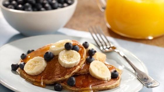 Whole Grain Pancakes with Fresh Fruit