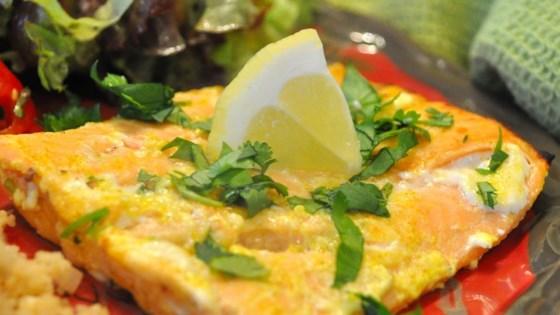 Photo of Yogurt-Marinated Salmon Fillets (Dahi Machhali Masaledar) by jpmcminn