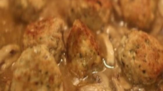 Photo of Chicken Marsala Meatballs by Cindy Anschutz Barbieri