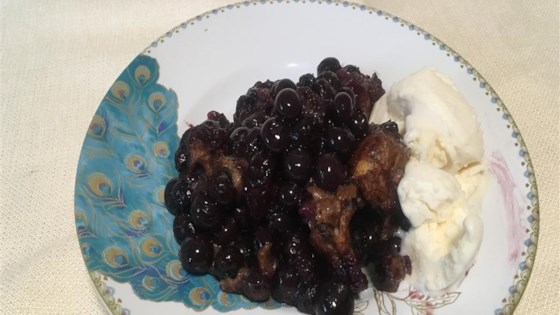 Photo of Slow Cooker Blueberry Biscuit Cobbler by K. Nayman