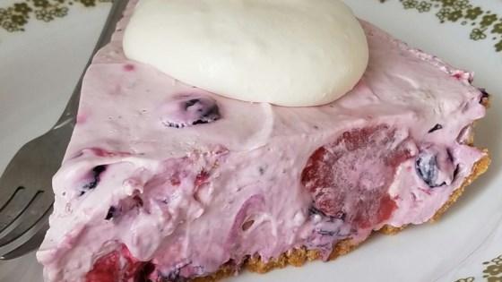 """Fruit Smoothie"" No-Bake Cheesecake from PHILADELPHIA®"