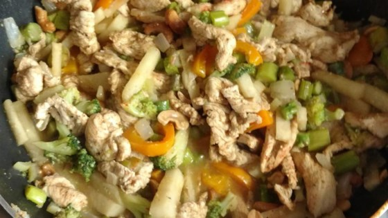 Photo of Cashew Chicken Stir Fry by Sweet B