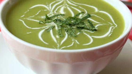 Photo of Chilled Sugar Snap Pea Soup by Chef John