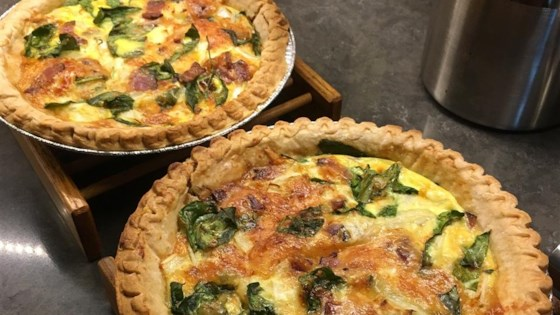 Easy broccoli quiche recipe allrecipes easy bacon and cheese quiche forumfinder Gallery