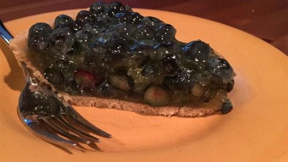 Jan's Fresh Blueberry Pie
